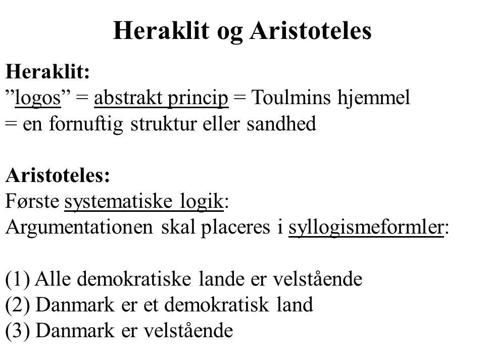 Heraklit og Aristoteles