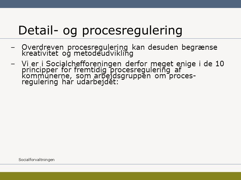 Detail- og procesregulering