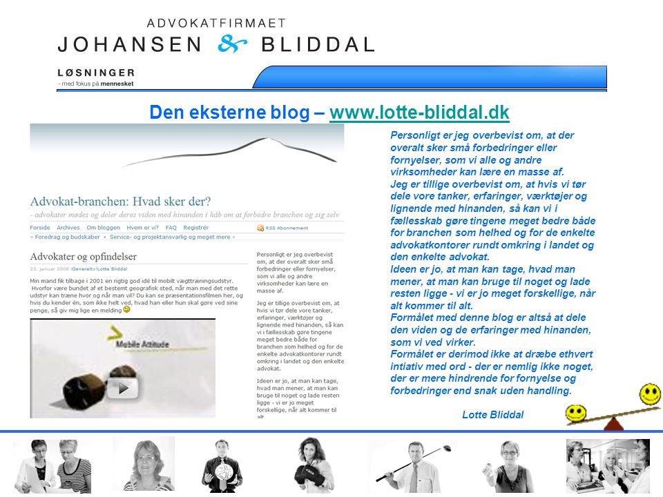 Den eksterne blog – www.lotte-bliddal.dk