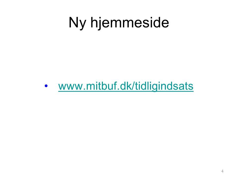 Ny hjemmeside www.mitbuf.dk/tidligindsats