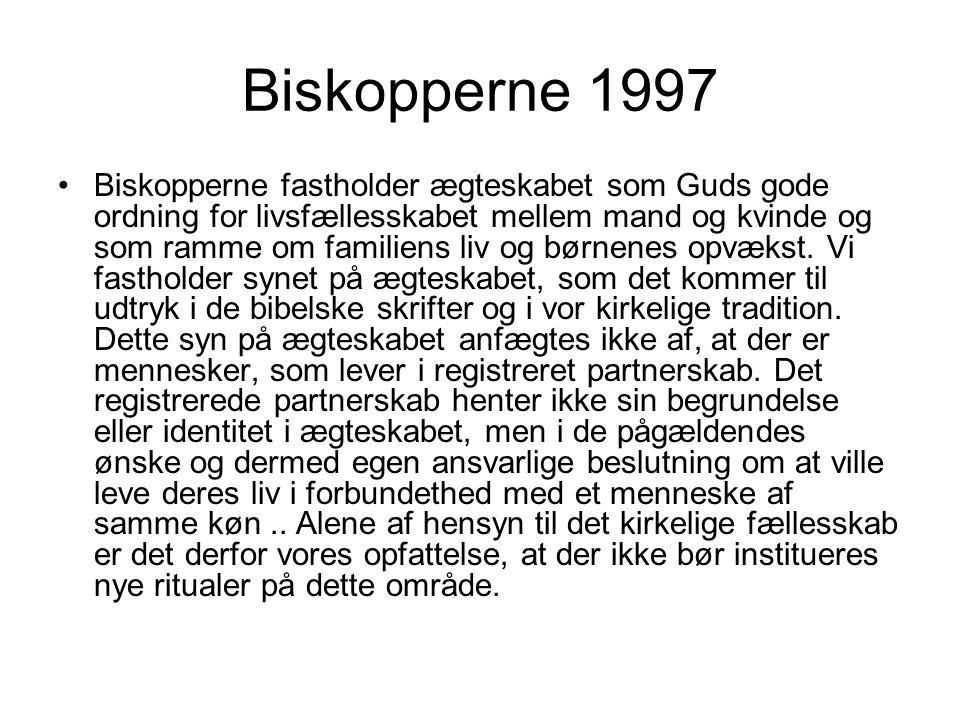 Biskopperne 1997