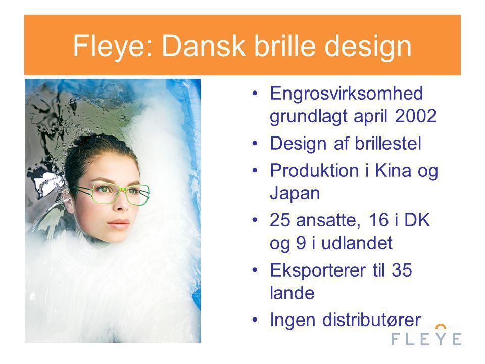 Fleye: Dansk brille design