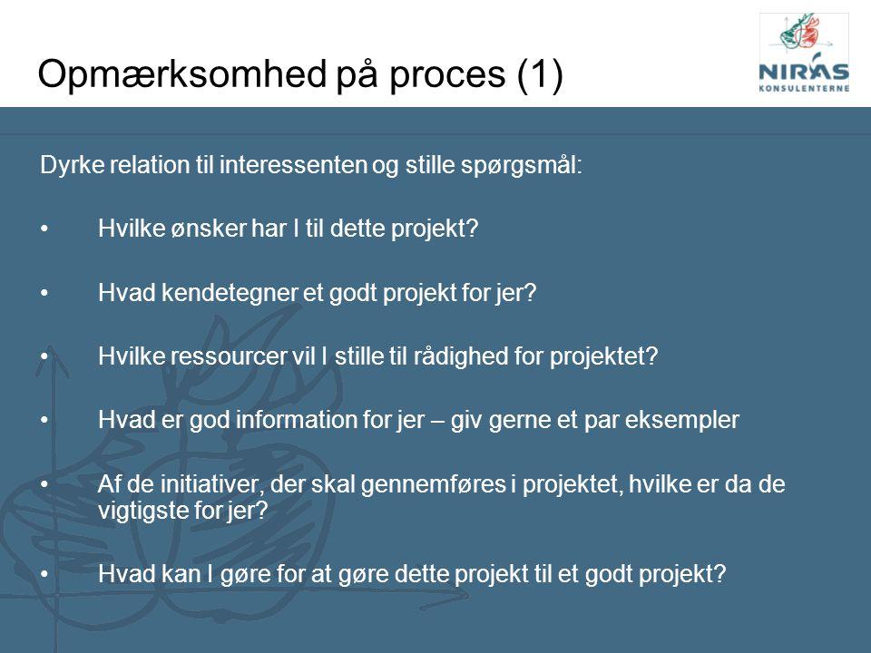 Opmærksomhed på proces (1)
