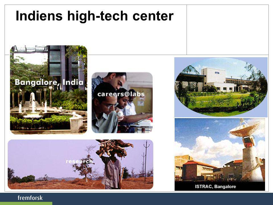 Indiens high-tech center