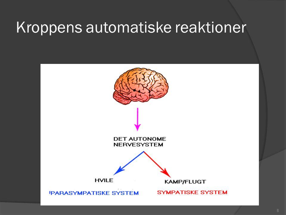 Kroppens automatiske reaktioner