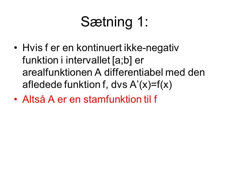 Sætning 1: