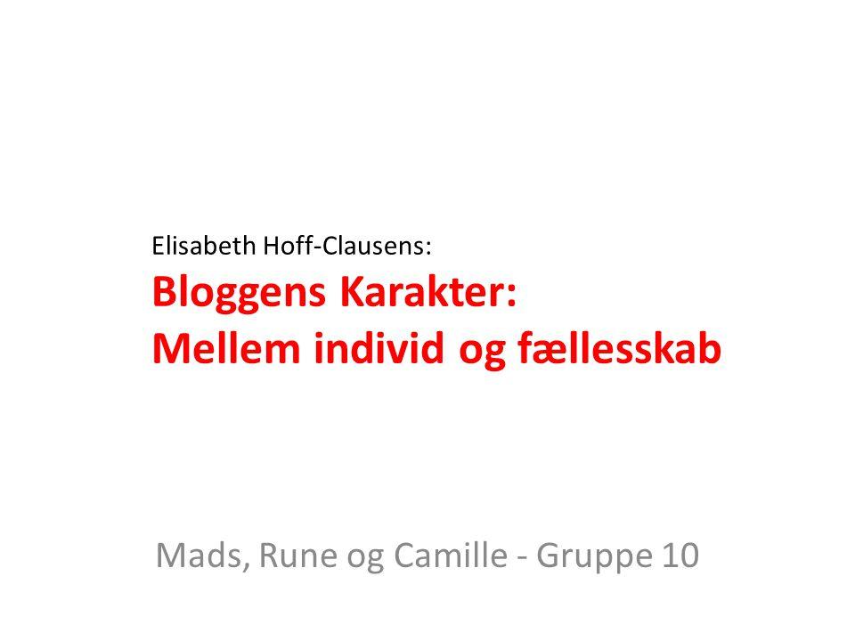Mads, Rune og Camille - Gruppe 10