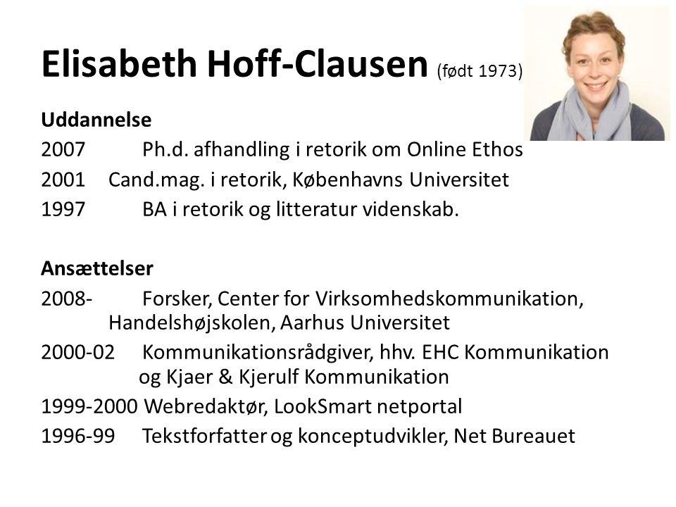 Elisabeth Hoff-Clausen (født 1973)