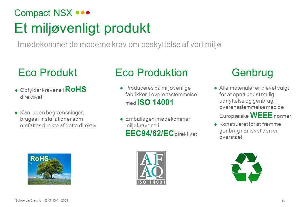 Et miljøvenligt produkt