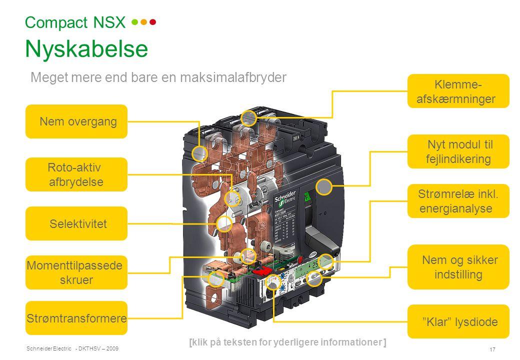 Nyskabelse Compact NSX Meget mere end bare en maksimalafbryder Klemme-
