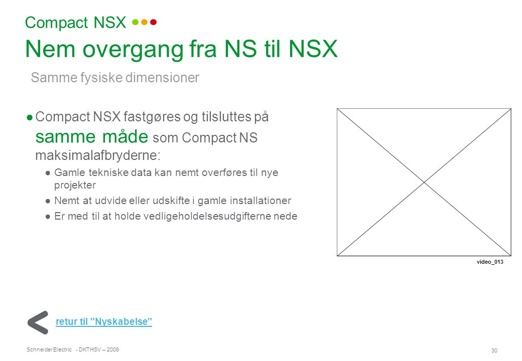 Nem overgang fra NS til NSX
