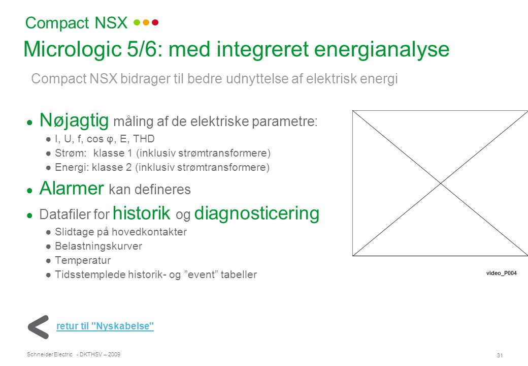 Micrologic 5/6: med integreret energianalyse