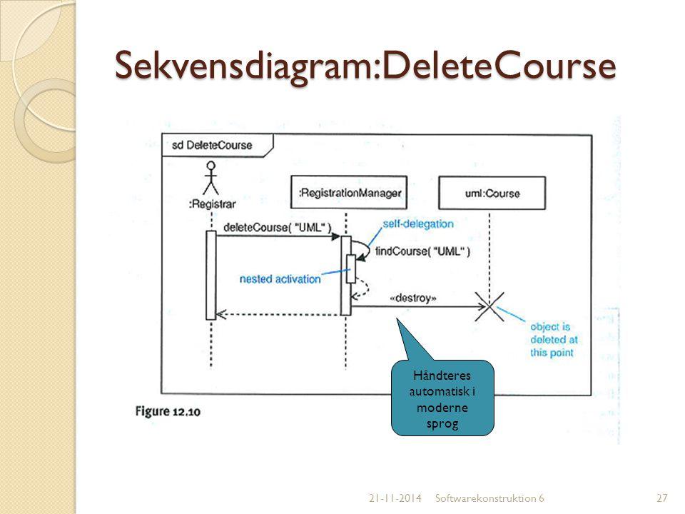 Sekvensdiagram:DeleteCourse
