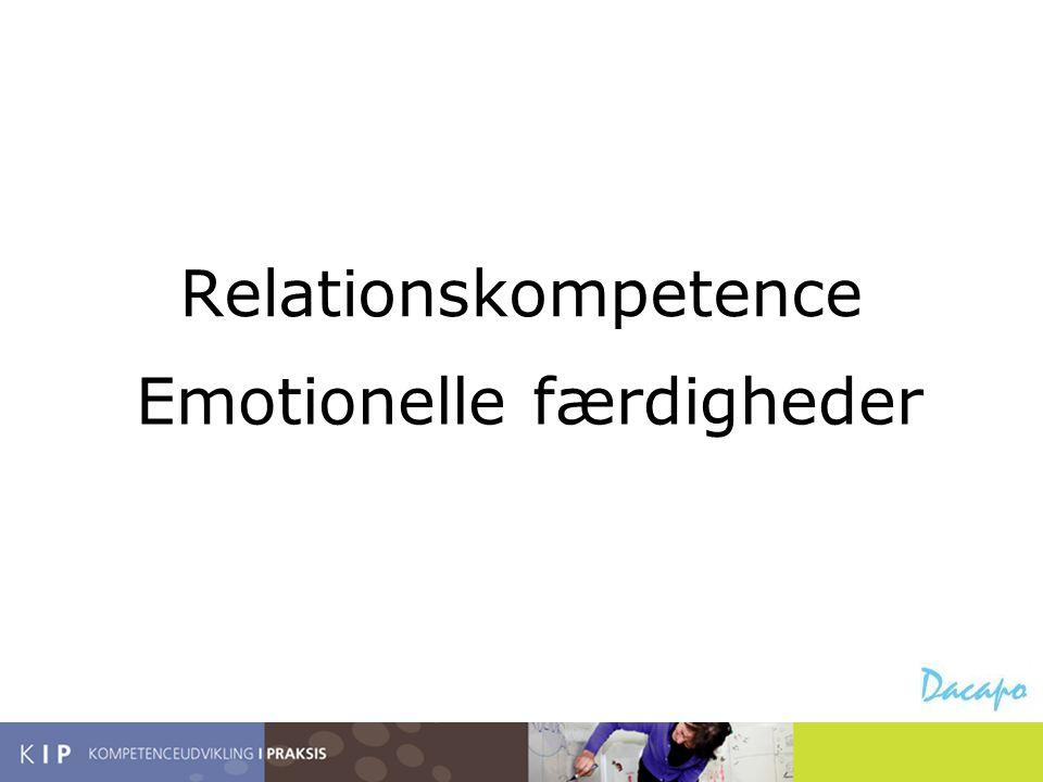 Emotionelle færdigheder