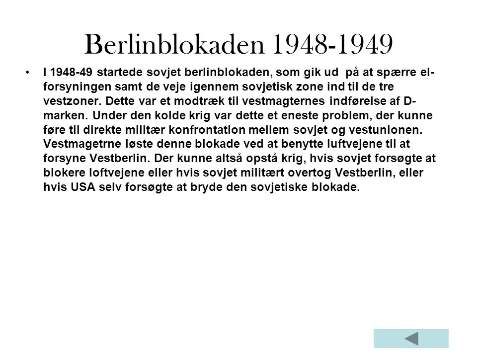 Berlinblokaden 1948-1949