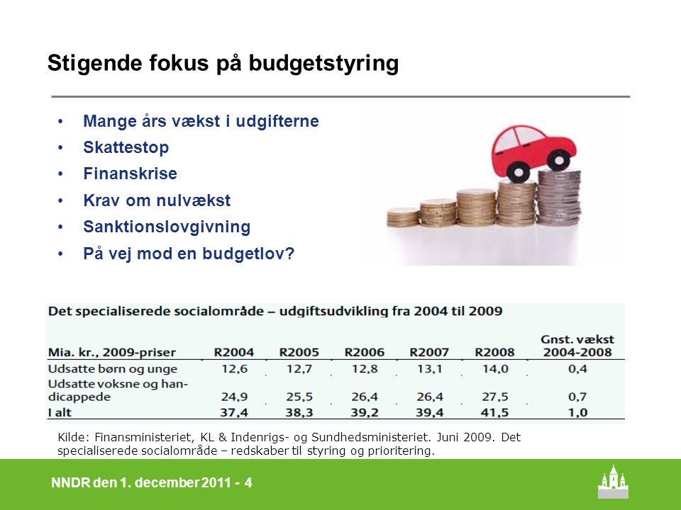 Stigende fokus på budgetstyring