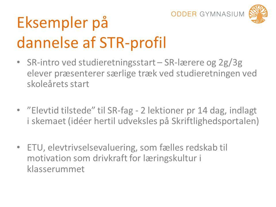 Eksempler på dannelse af STR-profil