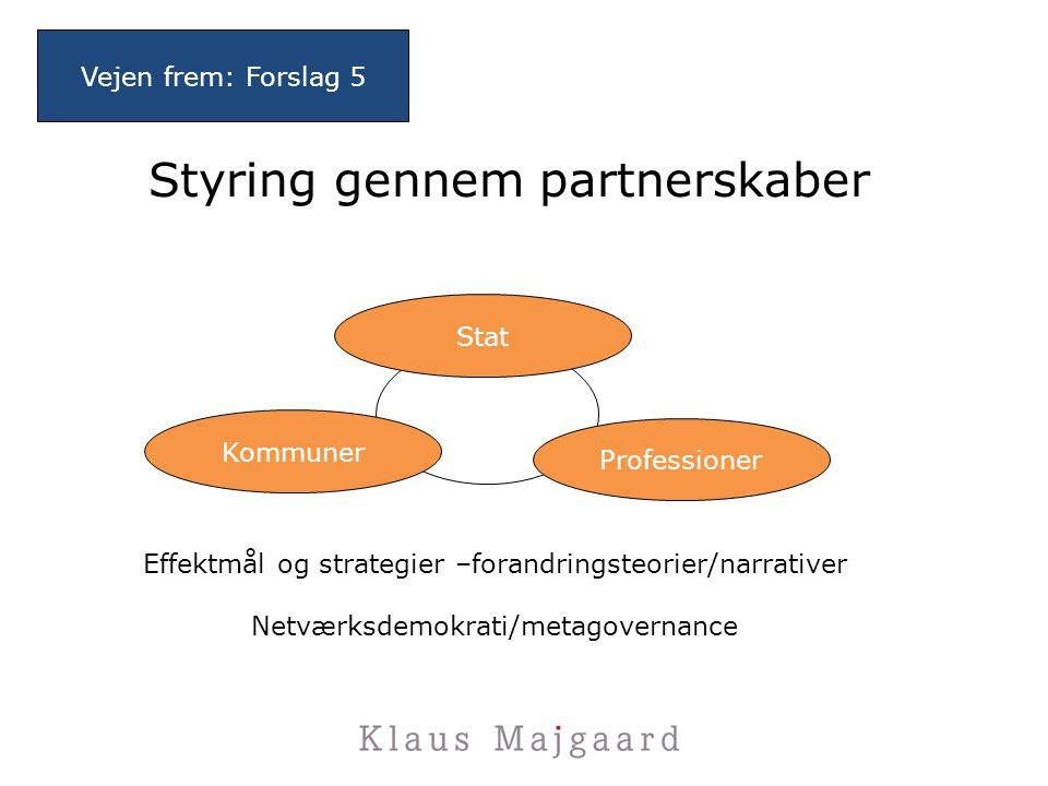 Styring gennem partnerskaber