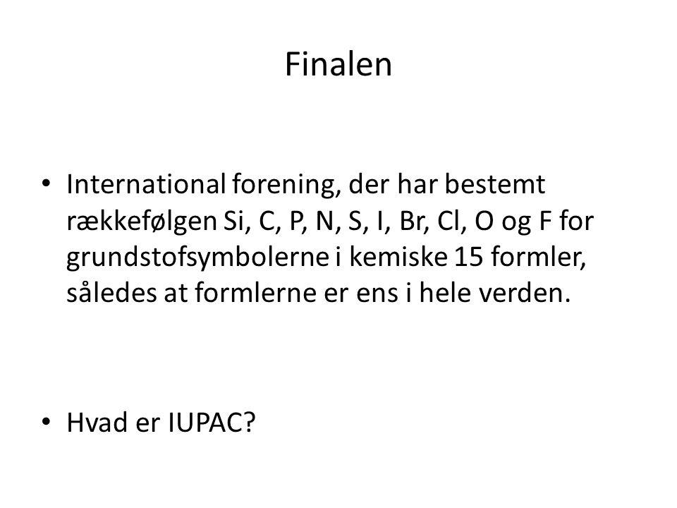 Finalen