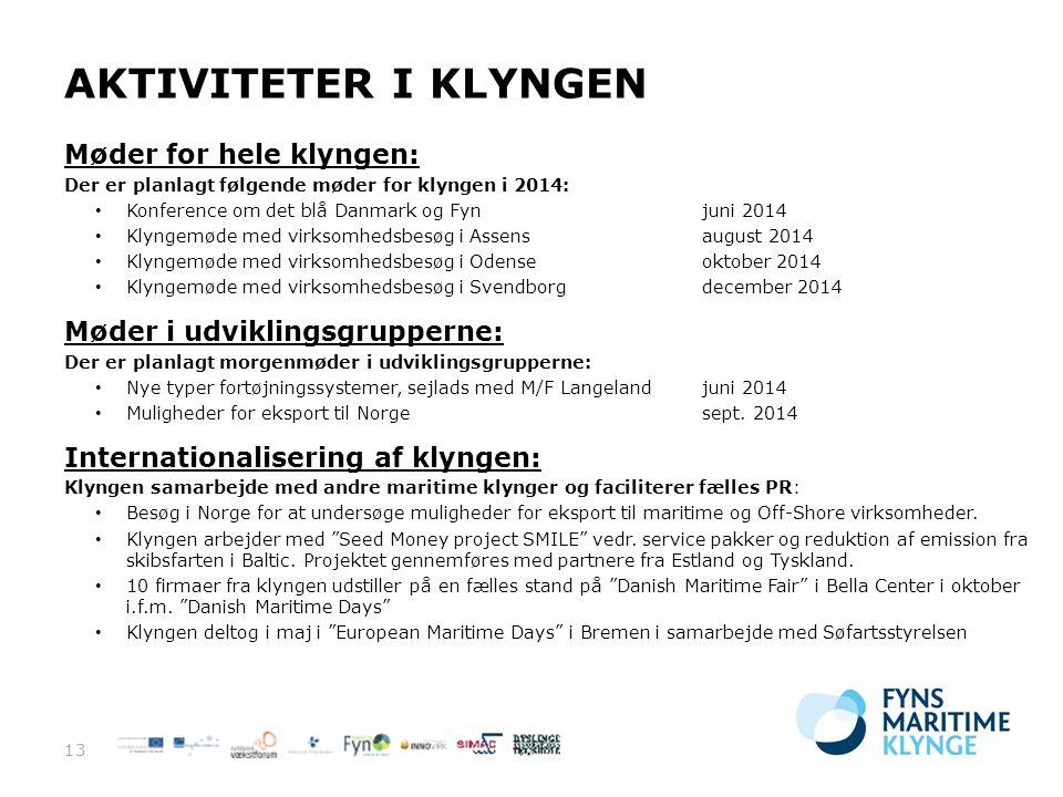 Fyns Maritime Klynge 11. juni 2014