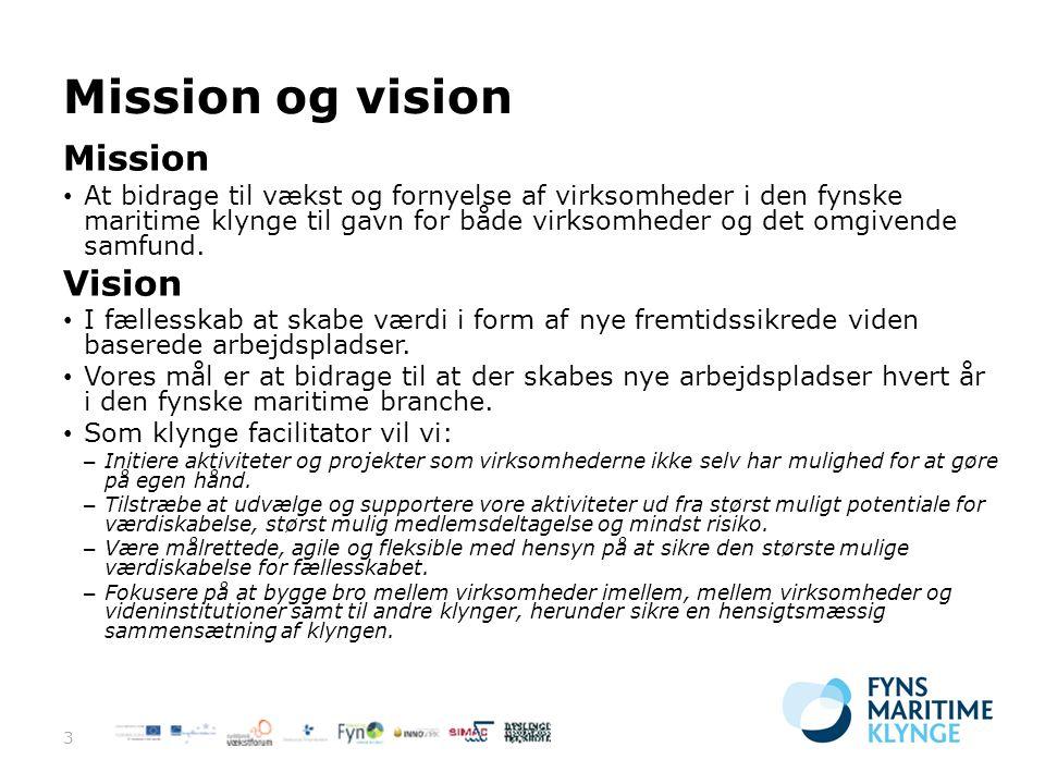 Mission og vision Mission