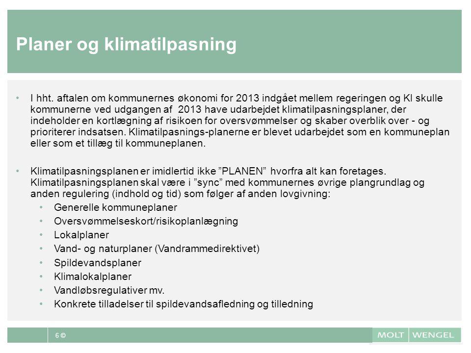 Planer og klimatilpasning