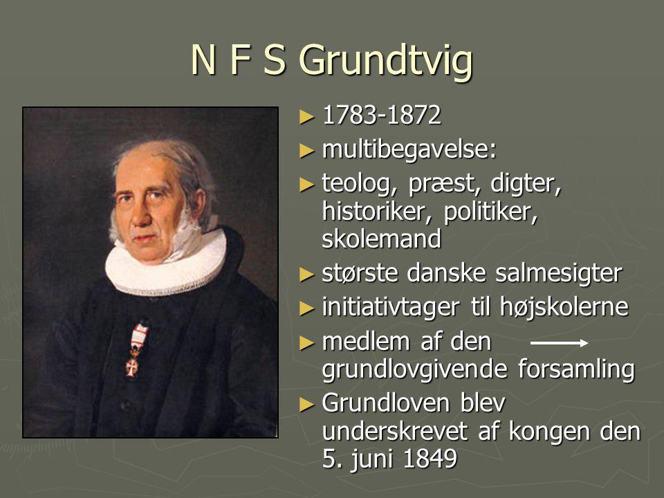 N F S Grundtvig 1783-1872 multibegavelse: