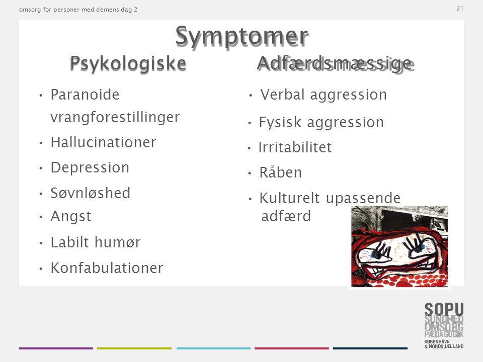 Psykologiske Adfærdsmæssige