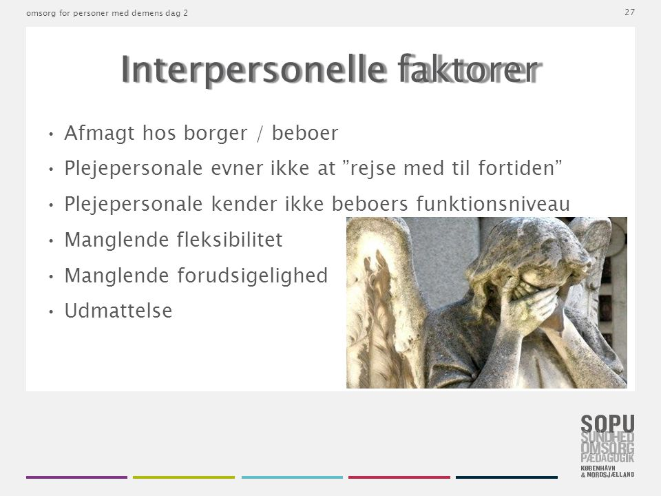 Interpersonelle faktorer