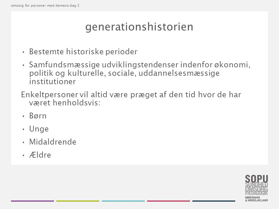 generationshistorien
