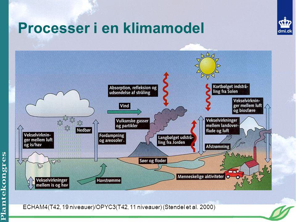 Processer i en klimamodel
