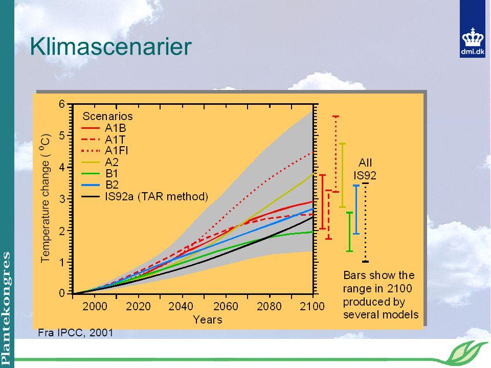 Klimascenarier Fra IPCC, 2001