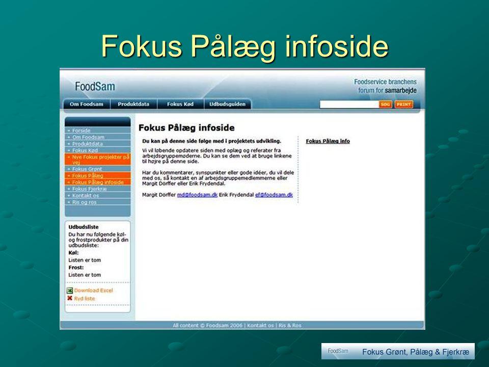 Fokus Pålæg infoside