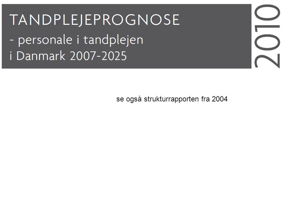 se også strukturrapporten fra 2004