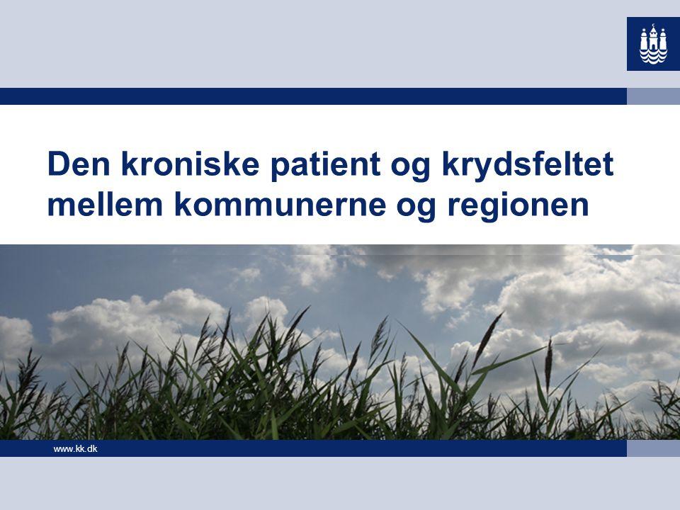 Den kroniske patient og krydsfeltet mellem kommunerne og regionen