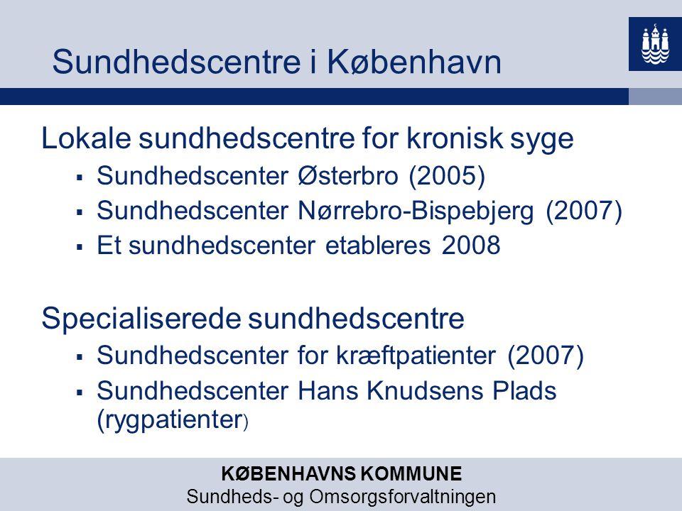 Sundhedscentre i København
