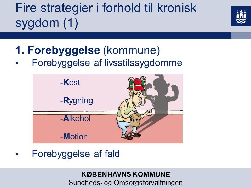 Fire strategier i forhold til kronisk sygdom (1)