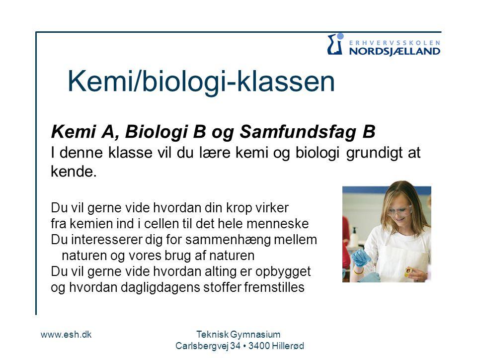 Kemi/biologi-klassen