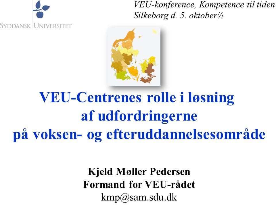 VEU-Centrenes rolle i løsning på voksen- og efteruddannelsesområde