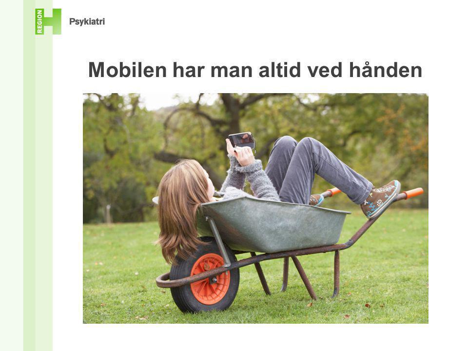 Mobilen har man altid ved hånden