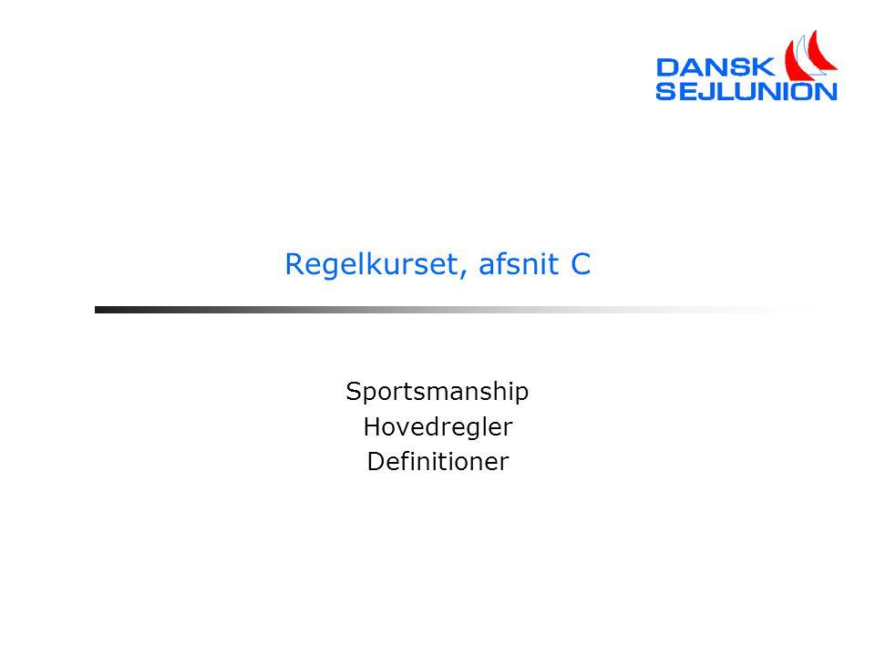 Sportsmanship Hovedregler Definitioner