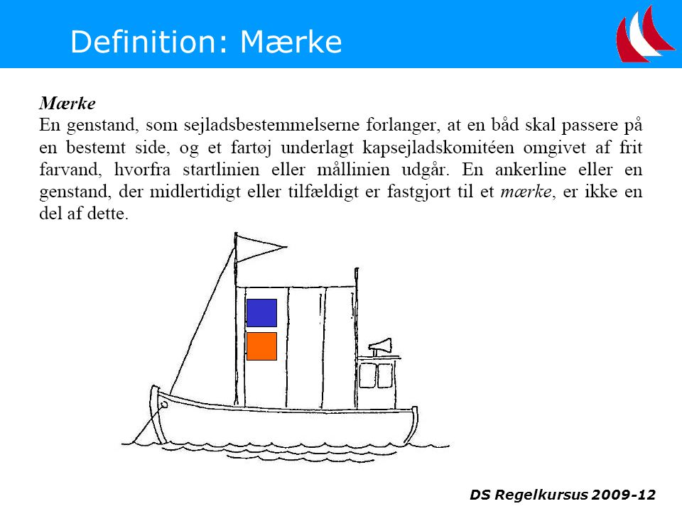 Definition: Mærke DS Regelkursus 2009-12