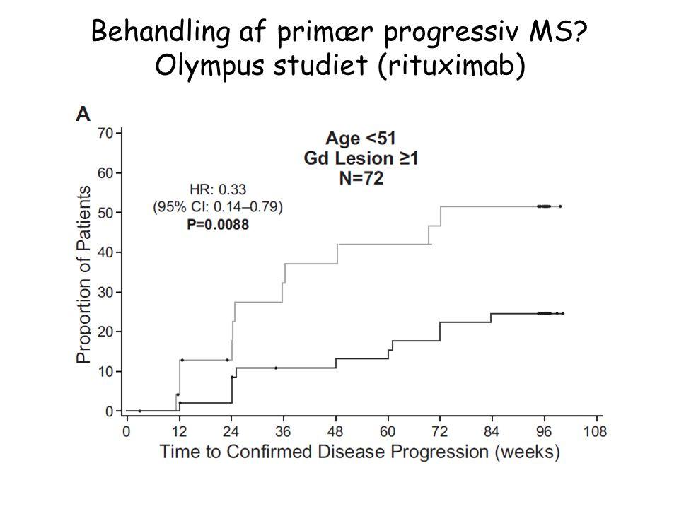 Behandling af primær progressiv MS Olympus studiet (rituximab)