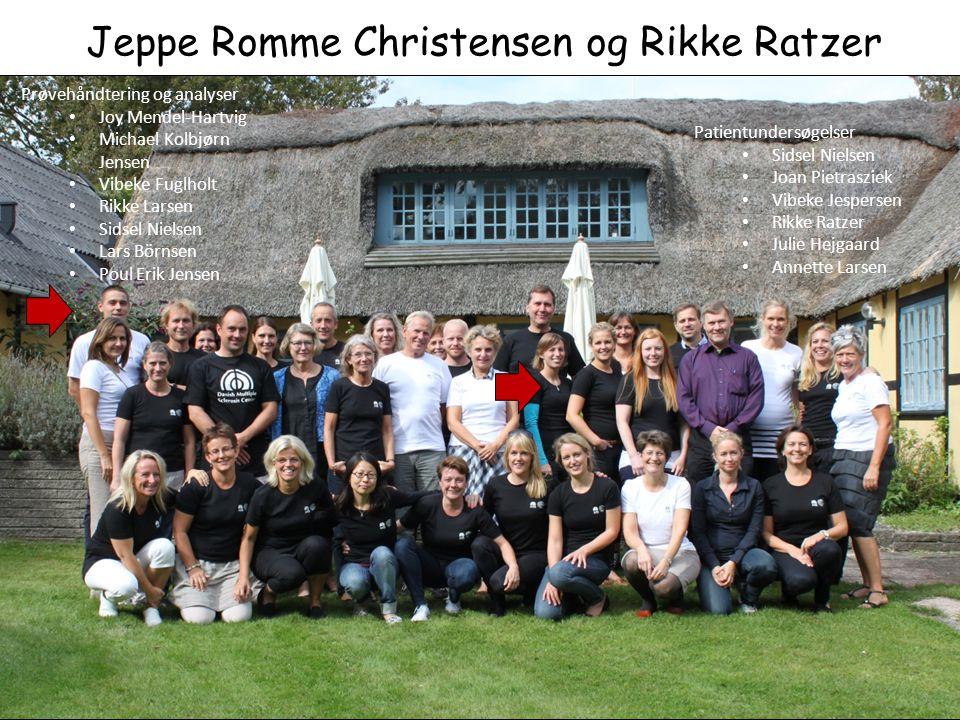 Jeppe Romme Christensen og Rikke Ratzer