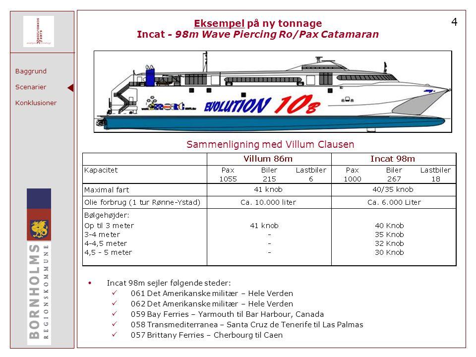 4 Eksempel på ny tonnage Incat - 98m Wave Piercing Ro/Pax Catamaran