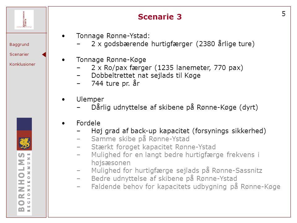 Scenarie 3 5 Tonnage Rønne-Ystad: