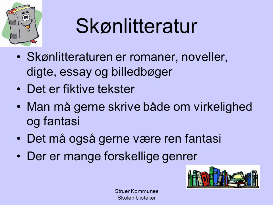 Struer Kommunes Skolebiblioteker