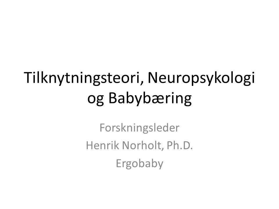 Tilknytningsteori, Neuropsykologi og Babybæring