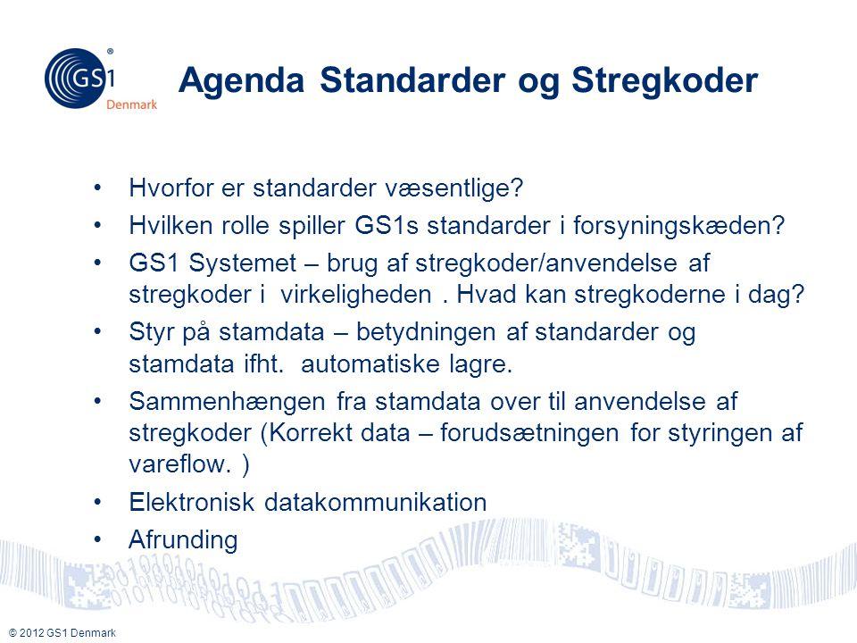 Agenda Standarder og Stregkoder