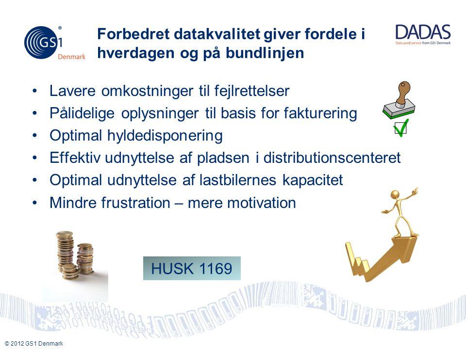 Forbedret datakvalitet giver fordele i hverdagen og på bundlinjen